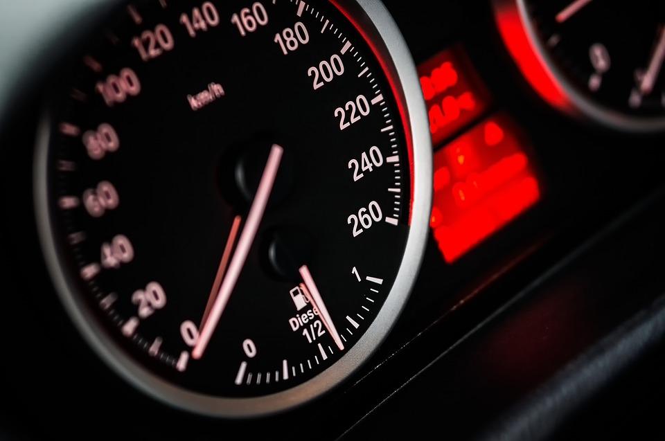 car accident speeding